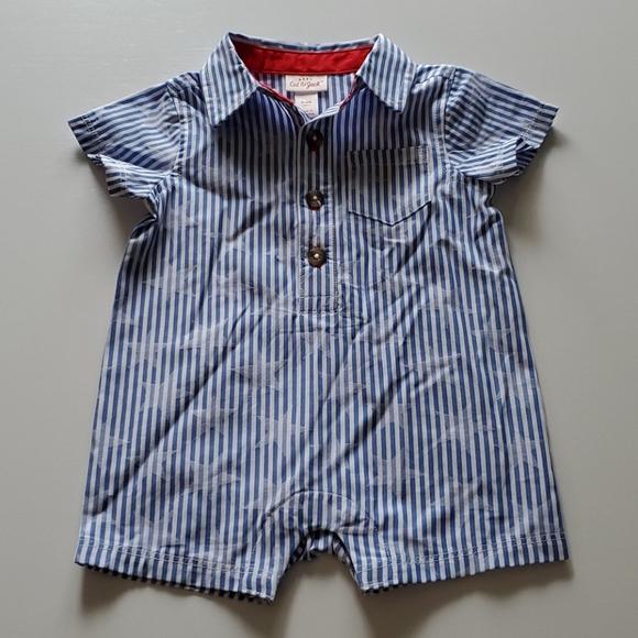 Cat /& Jack Baby Stripes 2 Piece Set